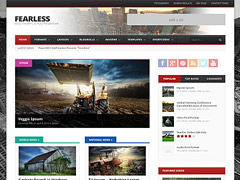 Buildings WP theme free
