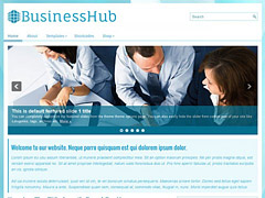 Blue Business WordPress Theme
