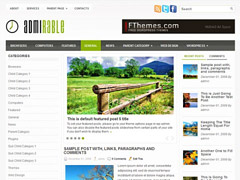 Eco Nature WordPress theme