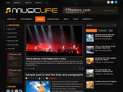 Music WordPress Theme for Free