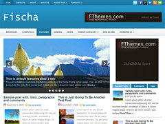 Fischa – Free wordpress theme